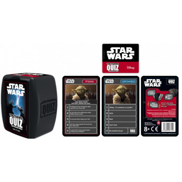 TOP TRUMPS STAR WARS QUIZ...